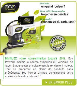 boitier eco power conomiseur de carburant diesel boitier eco power. Black Bedroom Furniture Sets. Home Design Ideas